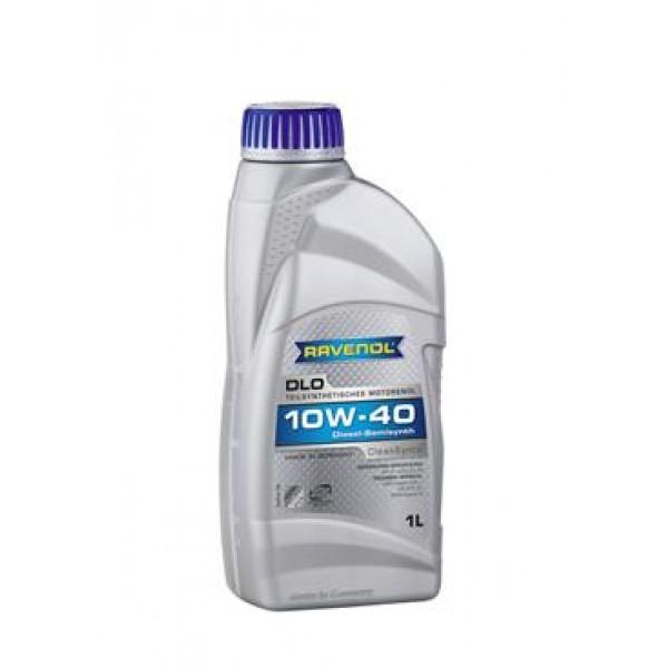 Моторное масло Ravenol DLO 10w40 полусинтетическое (1 л)
