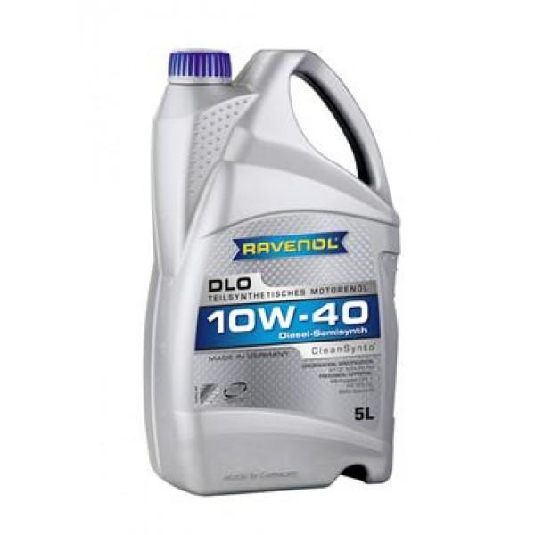 Моторное масло Ravenol DLO 10w40 полусинтетическое (5 л)