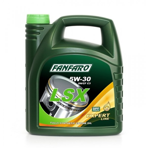 Моторное масло Fanfaro LSX 5w-30 Expert Line синтетическое (4л)