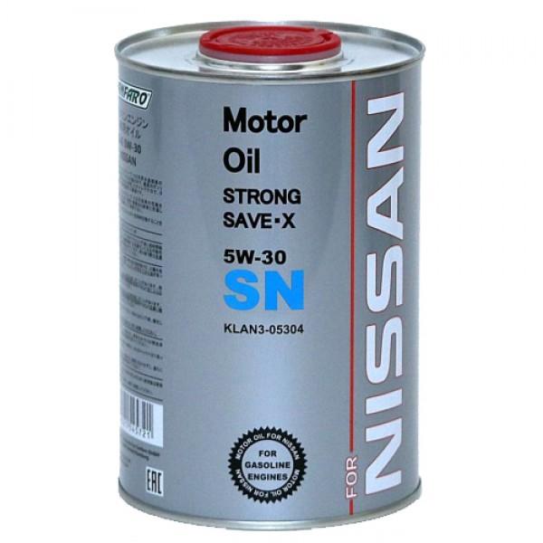 Моторное масло Fanfaro Nissan 5w30 SN синтетическое (1л)