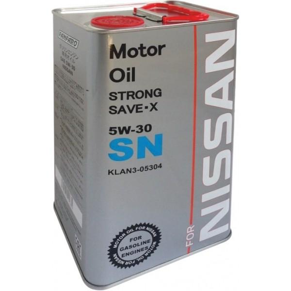 Моторное масло Fanfaro Nissan 5w30 SN синтетическое (4л)