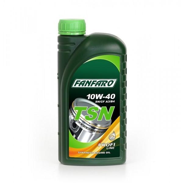 Моторное масло Fanfaro TSN 10w40 SN/CF синтетическое (1л)