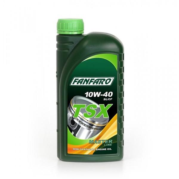 Моторное масло Fanfaro TSX 10w40 SL/CF полусинтетическое (1л)