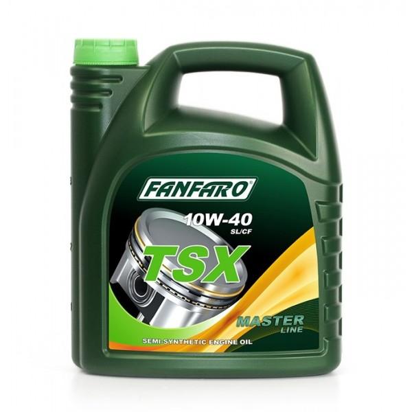 Моторное масло Fanfaro TSX 10w40 SL/CF полусинтетическое (4л)
