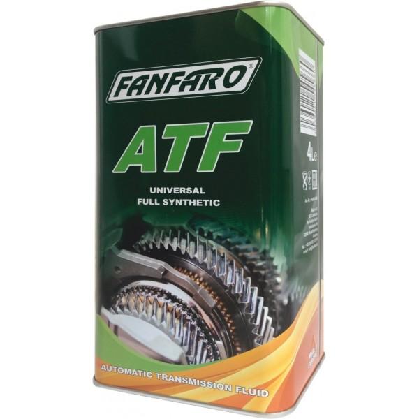 Масло для АКПП Fanfaro ATF Universal Full Synthetic 8602 синтетическое