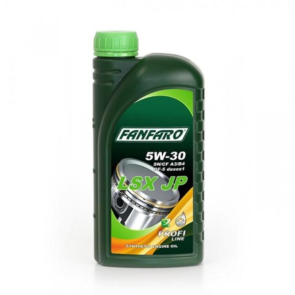 Моторное масло Fanfaro LSX JP 5w-30 SN/CF синтетическое (1л)