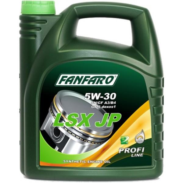Моторное масло Fanfaro LSX JP 5w-30 SN/CF синтетическое (4л)