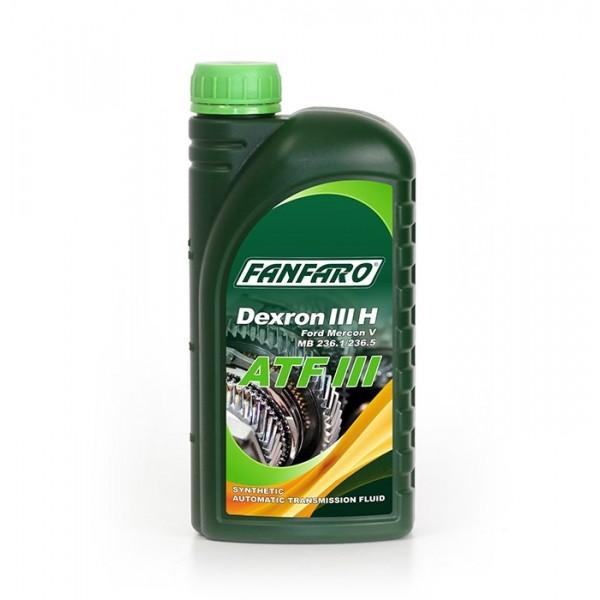 Масло для АКПП Fanfaro ATF Dexron III синтетическое