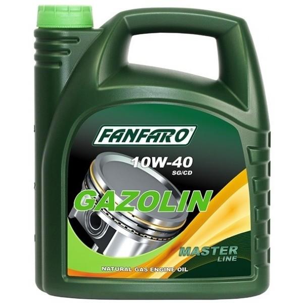 Моторное маслоFanfaro Gazolin 10w40 SG/CD полусинтетическое