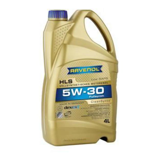 Моторное масло Ravenol HLS 5w30 синтетическое (5 л)