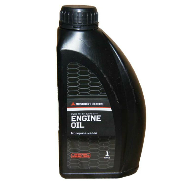 Моторное масло MITSUBISHI Genuine Oil 0w30 SM GF5 (1л)
