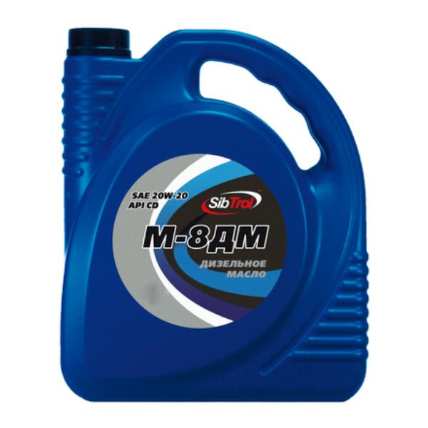 Моторное масло для дизельных двигателей SibTrol М8ДМ минеральное (20 л)